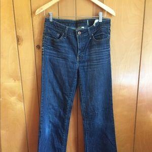 Gap Straight Leg Jeans w/ Stretch - 4L